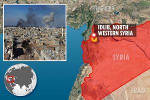 Twenty-nine Turkish soldiers killed in 'Russian air strike' amid soaring tensions