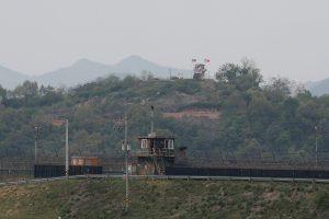 North Korea fires shots towards South Korea guard post on border a day after Kim Jong-un reappears