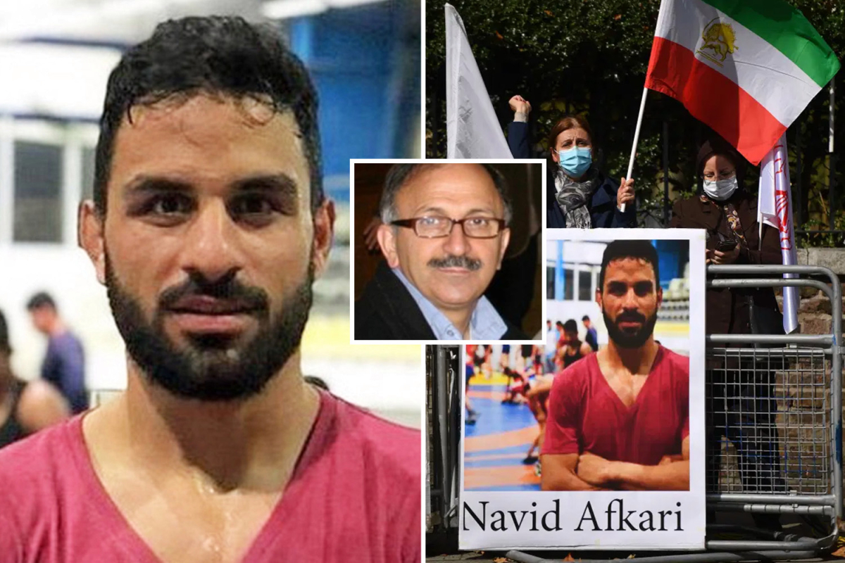 Iran soccer star relives horror second he was advised wrestler pal was hanged as he calls for finish to 'terrorist' regime