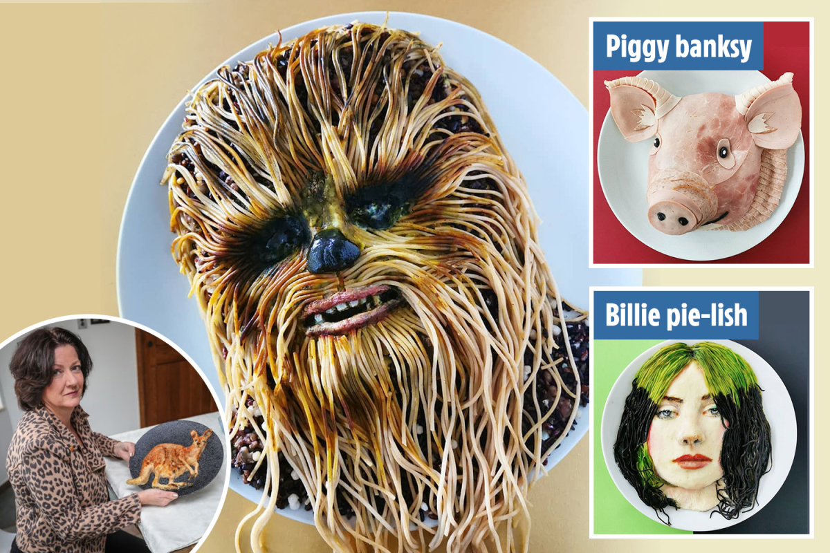 Mum turns into web sensation after creating an edible Chewbacca