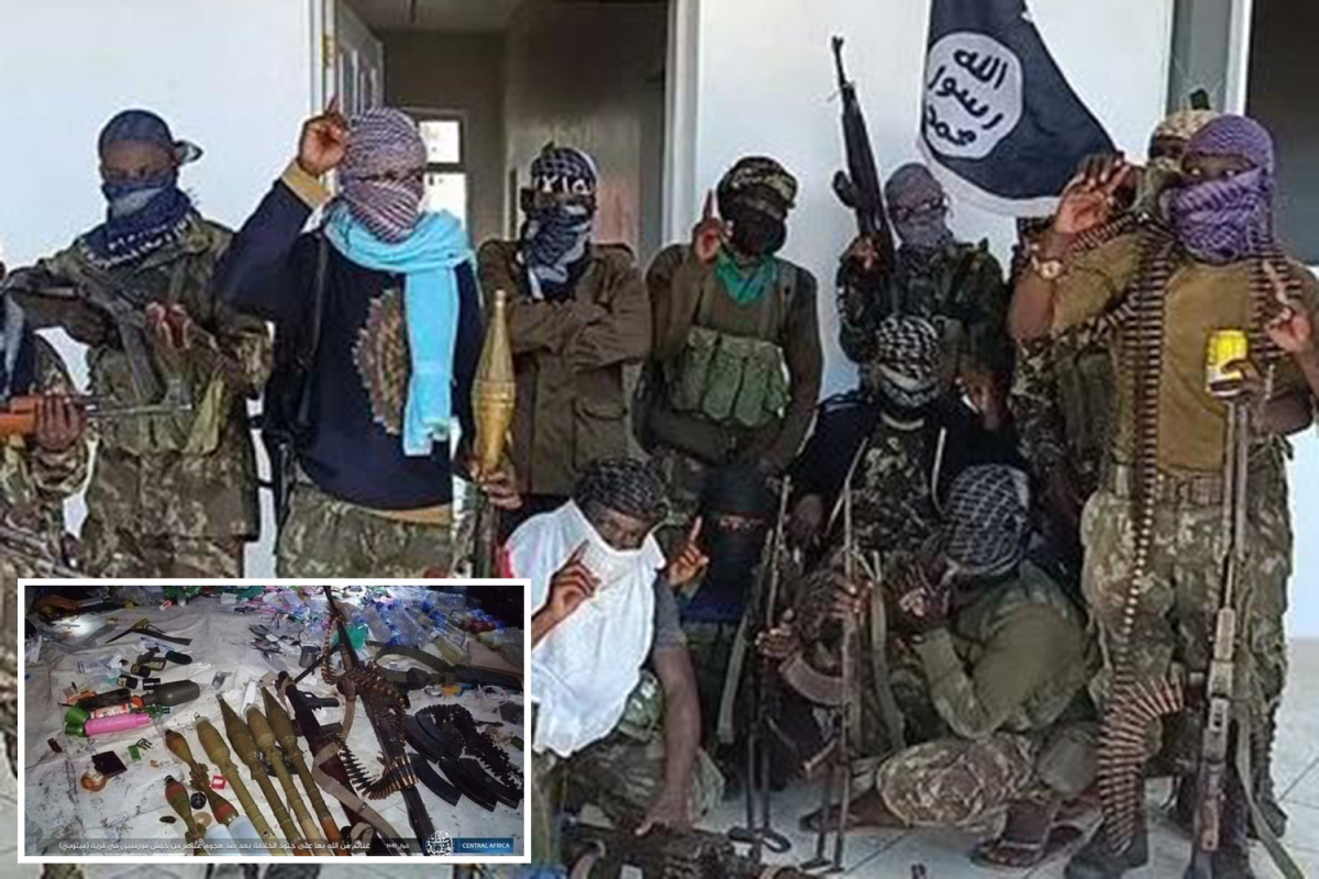 ISIS-linked jihadi's perform beheadings and take intercourse slaves in new terror 'capital' in African forest
