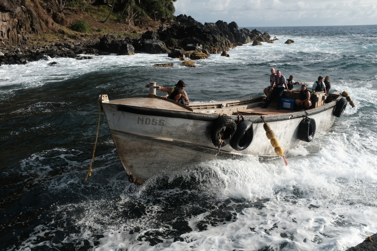 Islanders whose ancestors led the Mutiny on the Bounty  get Covid jabs after epic 15,000 mile journey