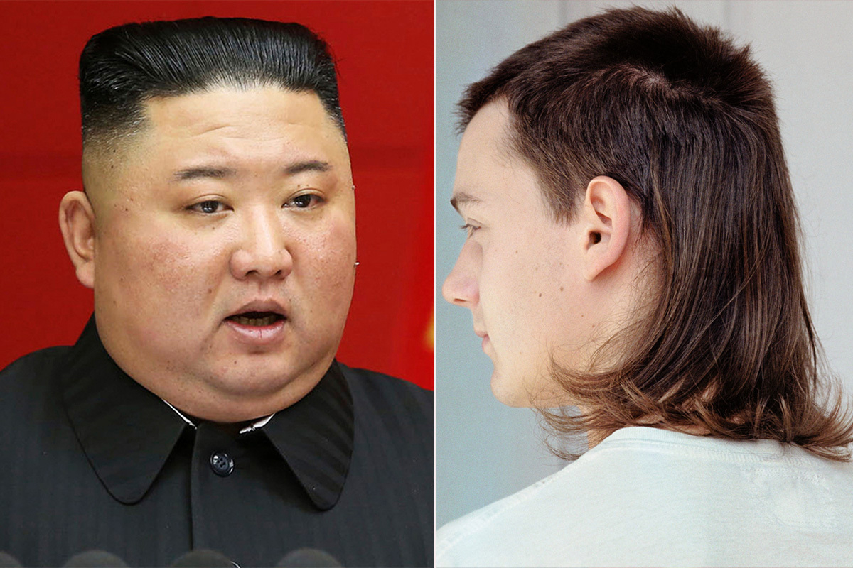 Kim Jong-un 'bans MULLETS and thin denims' in North Korea in swipe at 'decadent' Western types