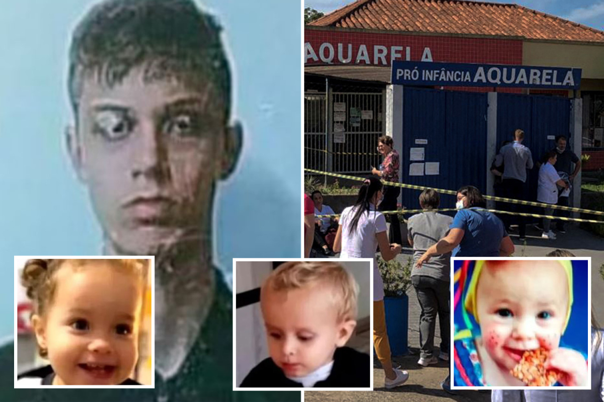 Machete monster, 18, who butchered three infants and two nursery workers is 'bullied loner who tortures animals'