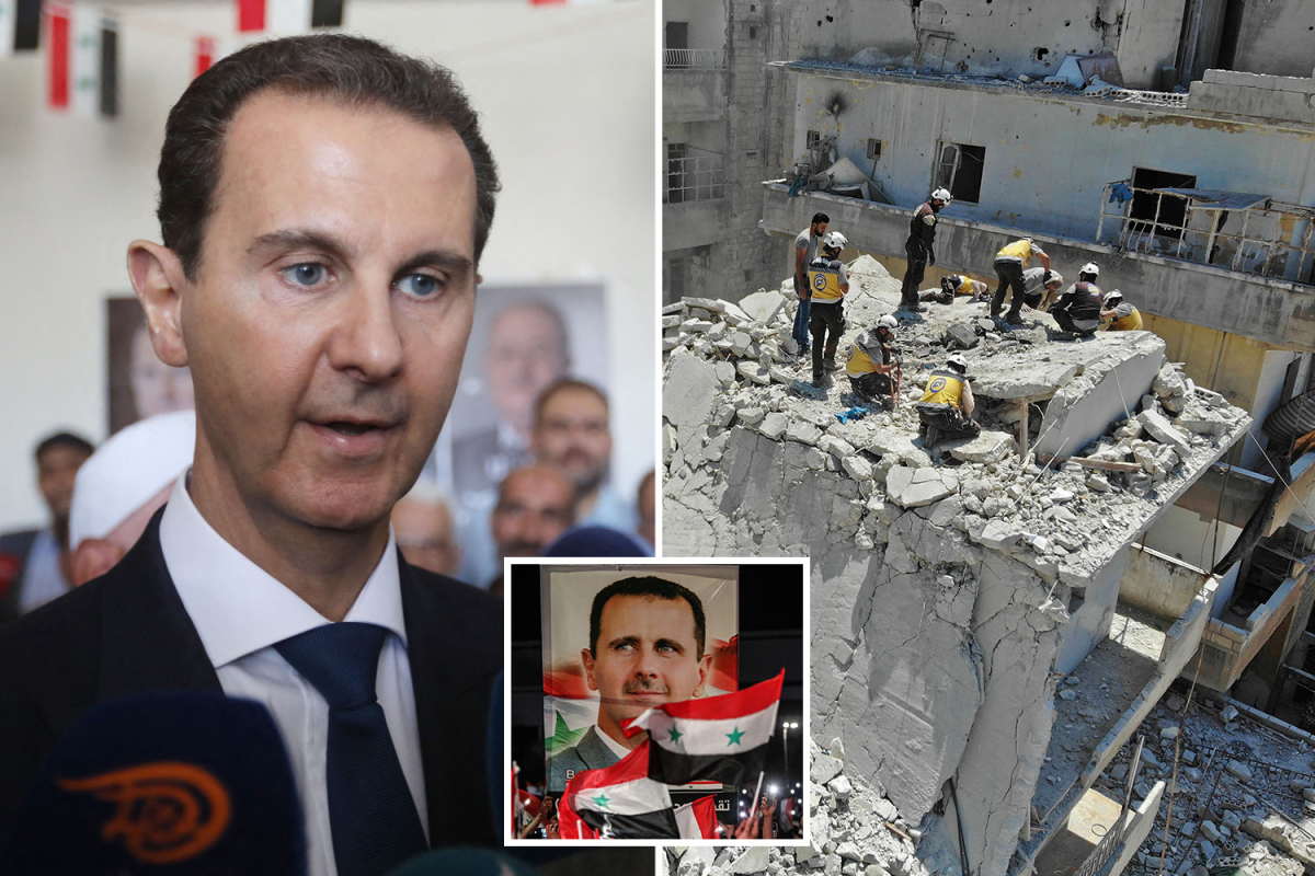 Syrian President Assad elected for 4th time period regardless of poverty-stricken nation's 10-year battle as win branded a 'farce'