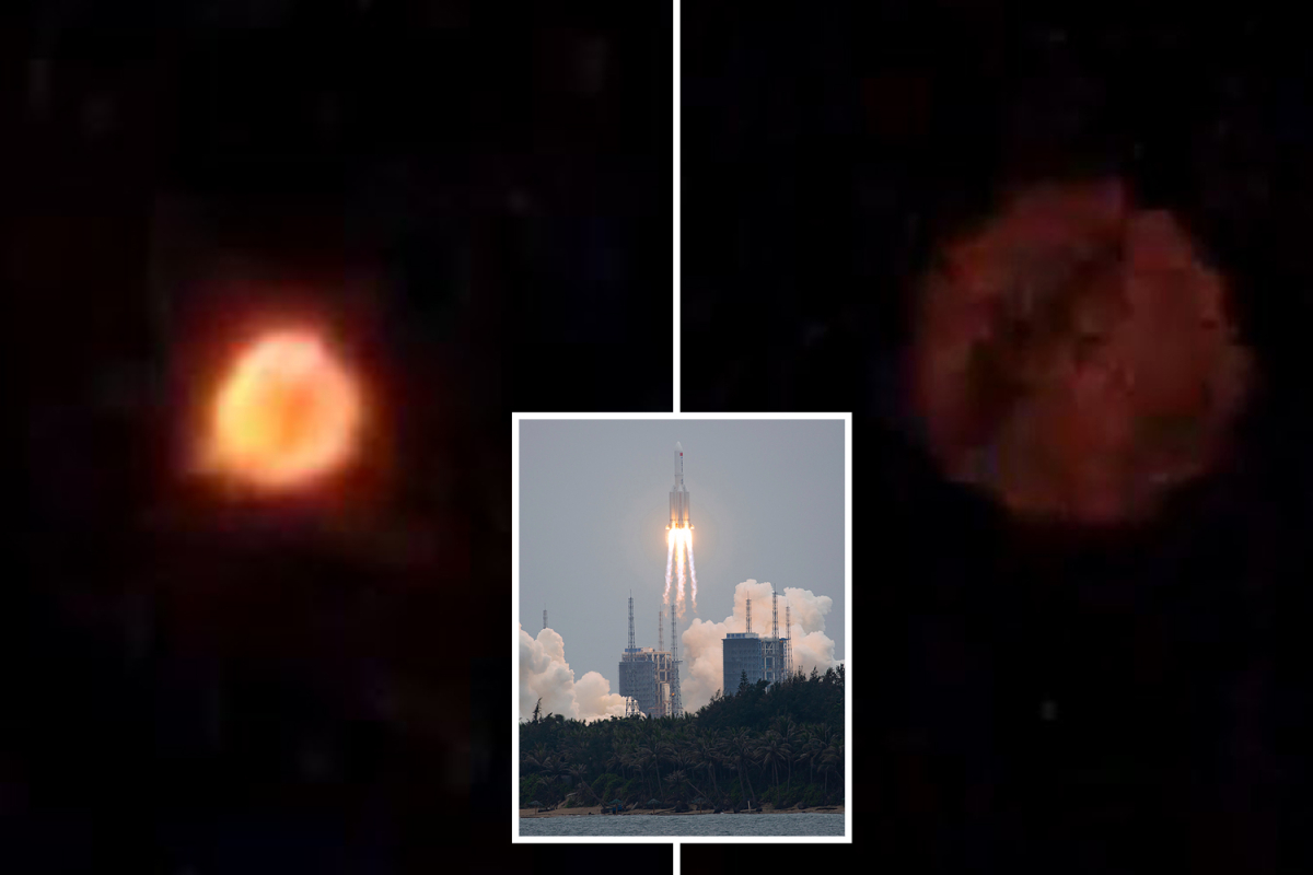 UFO noticed in night time sky above India as locals concern 'fireball' may very well be 'uncontrolled' Chinese language rocket