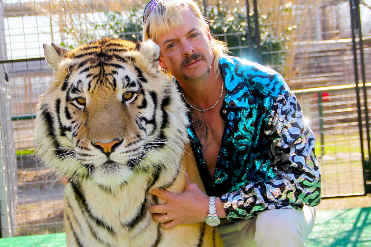 Zoo made well-known by Netflix's Tiger King sees dozens of huge cats seized by officers