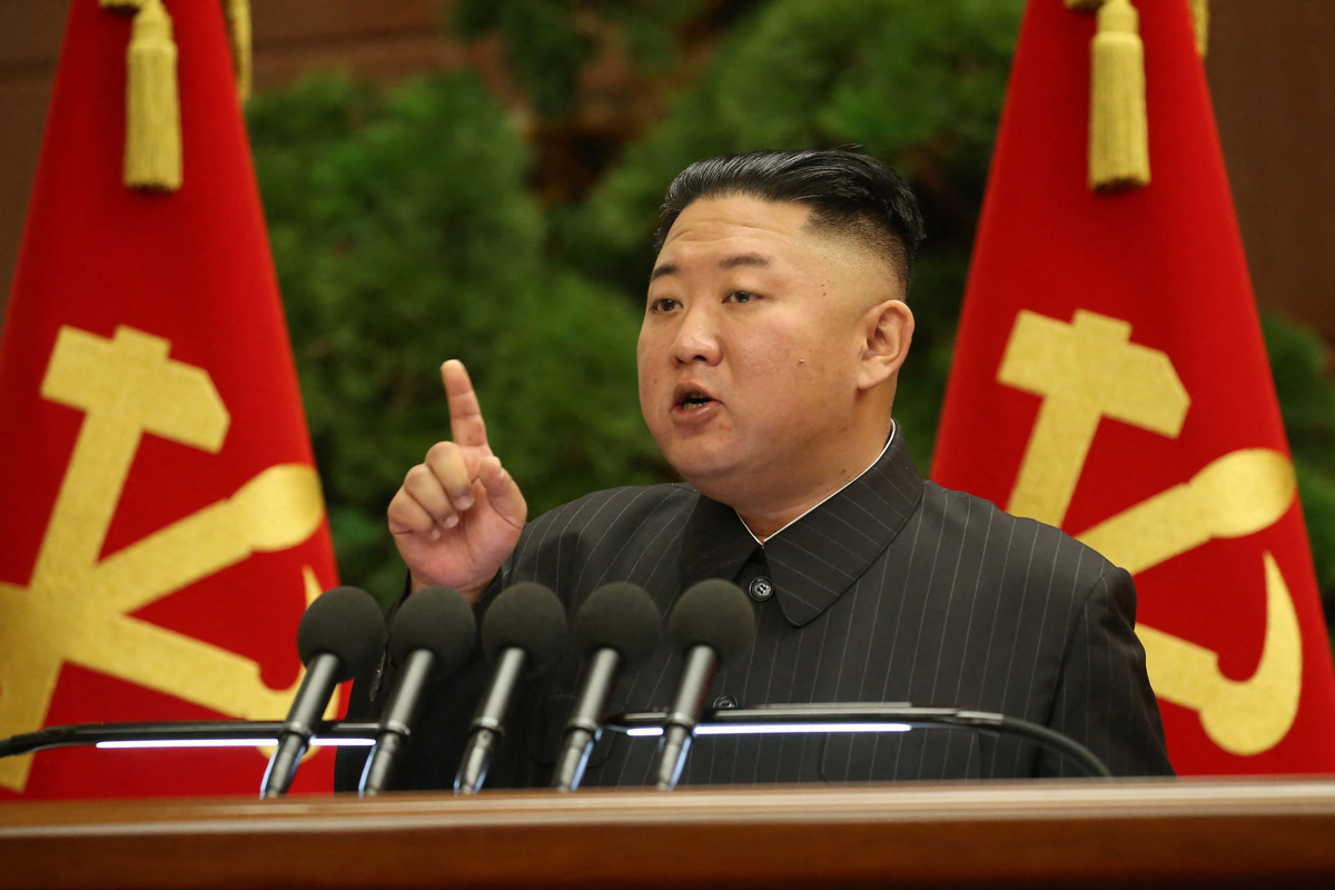 'Frail' Kim Jong-un blasts officers over 'essential' Covid blunders amid fears of mass outbreak