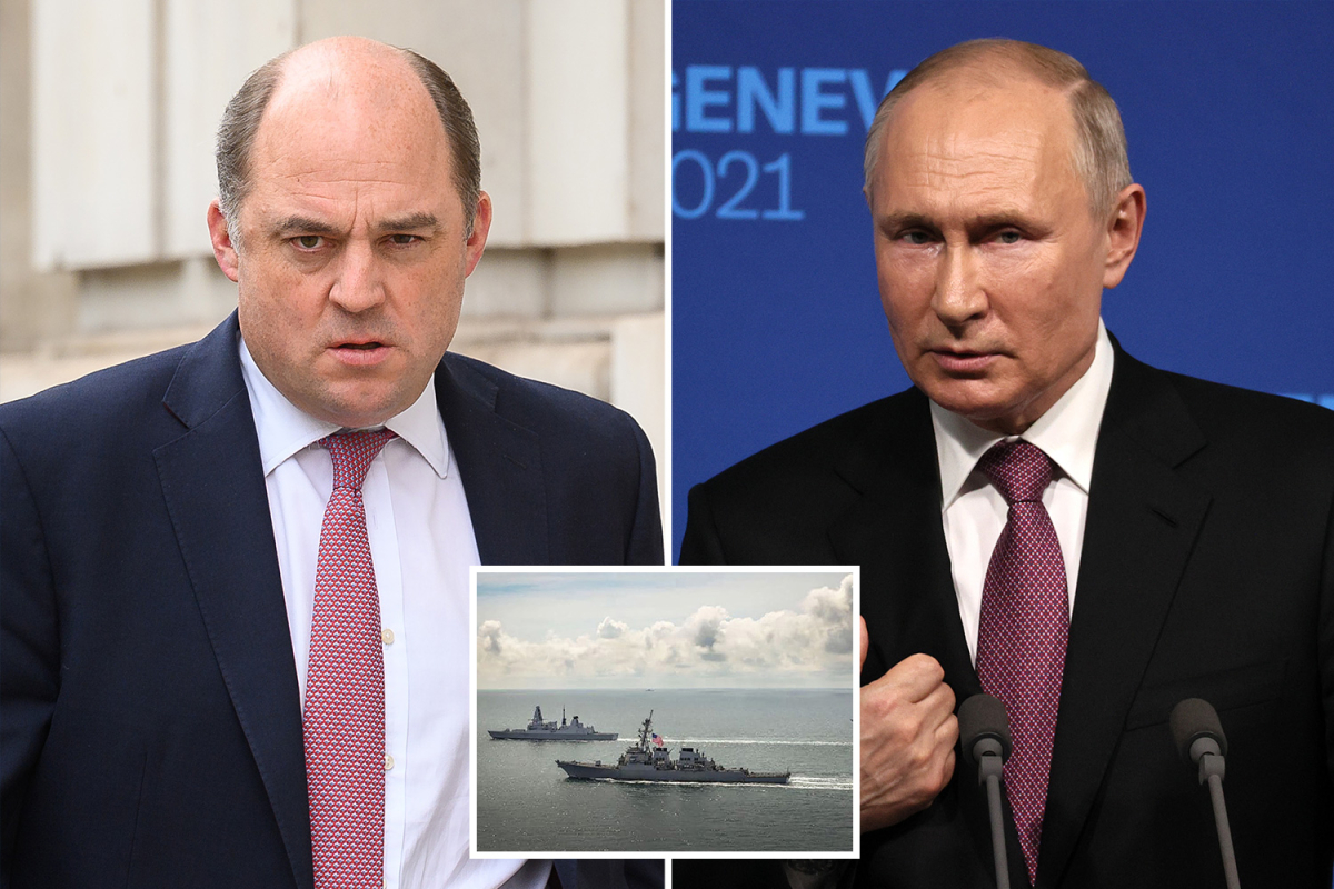 Defiant Britain tells Putin 'You gained't cease our ships' after Royal Navy destroyer's face-off with Russians close to Crimea