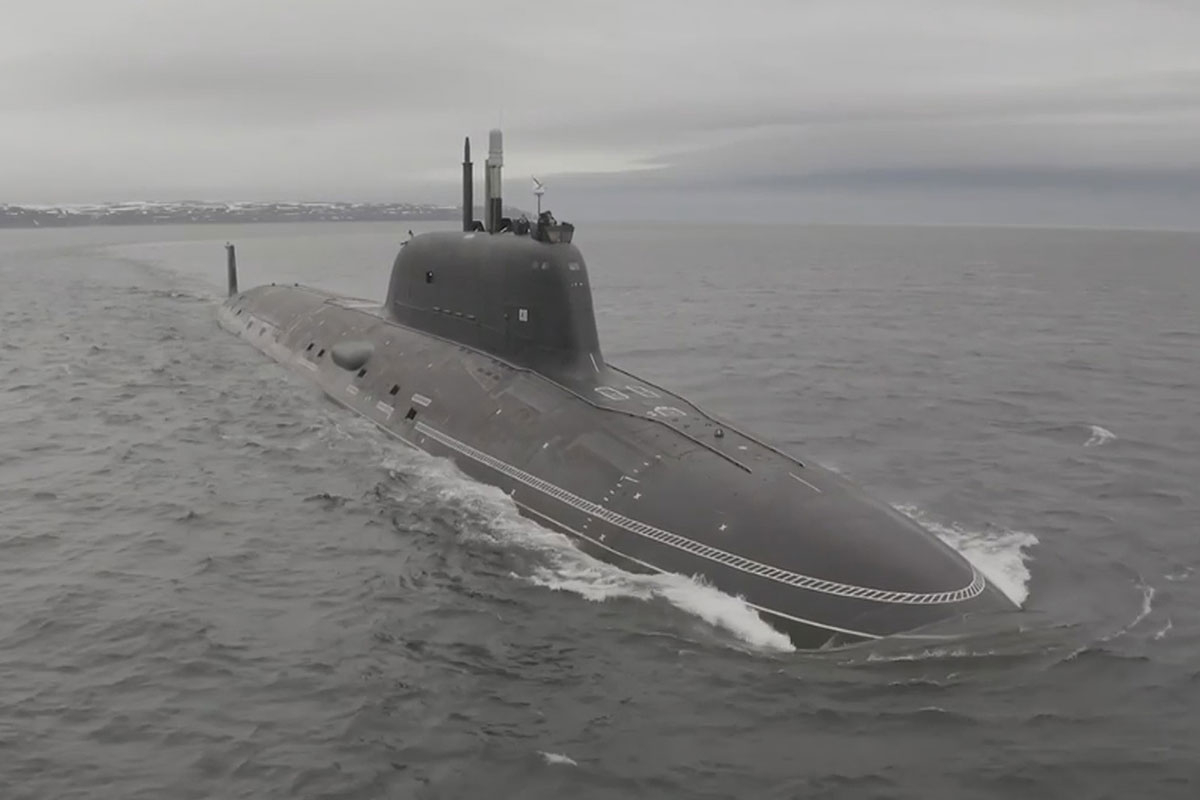 G7 summit – Fears Russian cruise missile sub is stalking Cornish coast as meddling Putin checks Boris and Biden