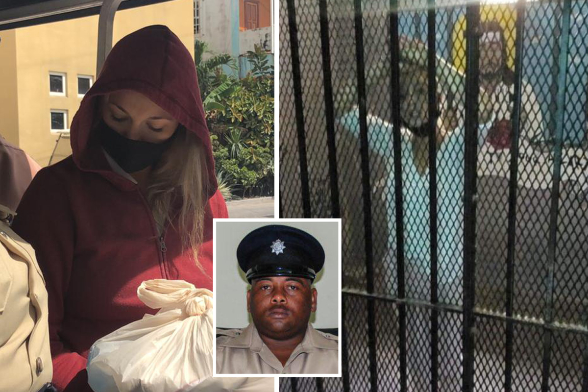 Jasmine Hartin was cheered by inmates who celebrated 'first woman to kill cop' after 'taking pictures police chief'