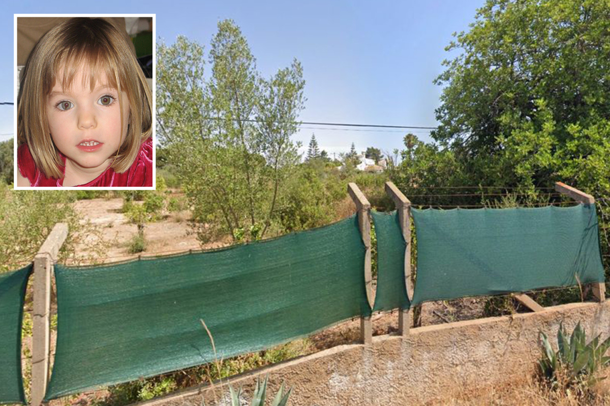 Madeleine McCann suspect Christian B had 'secret Algarve compound guarded by canine that solely him and ex has entry too'