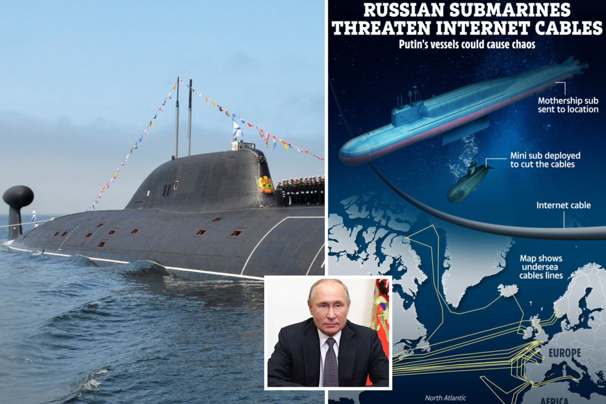 Putin's 'metropolis killer' 604ft submarine filled with nuke drones able to triggering tsunami units sail for the primary time