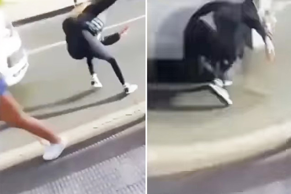 Stunning second teen pushes good friend, 14, in entrance of shifting automotive after shoving her into pedestrians in sick 'joke'