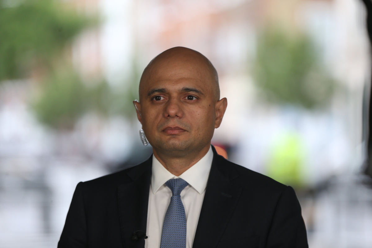 Well being Secretary Sajid Javid apologises for suggesting Brits shouldn't 'cower' from Covid