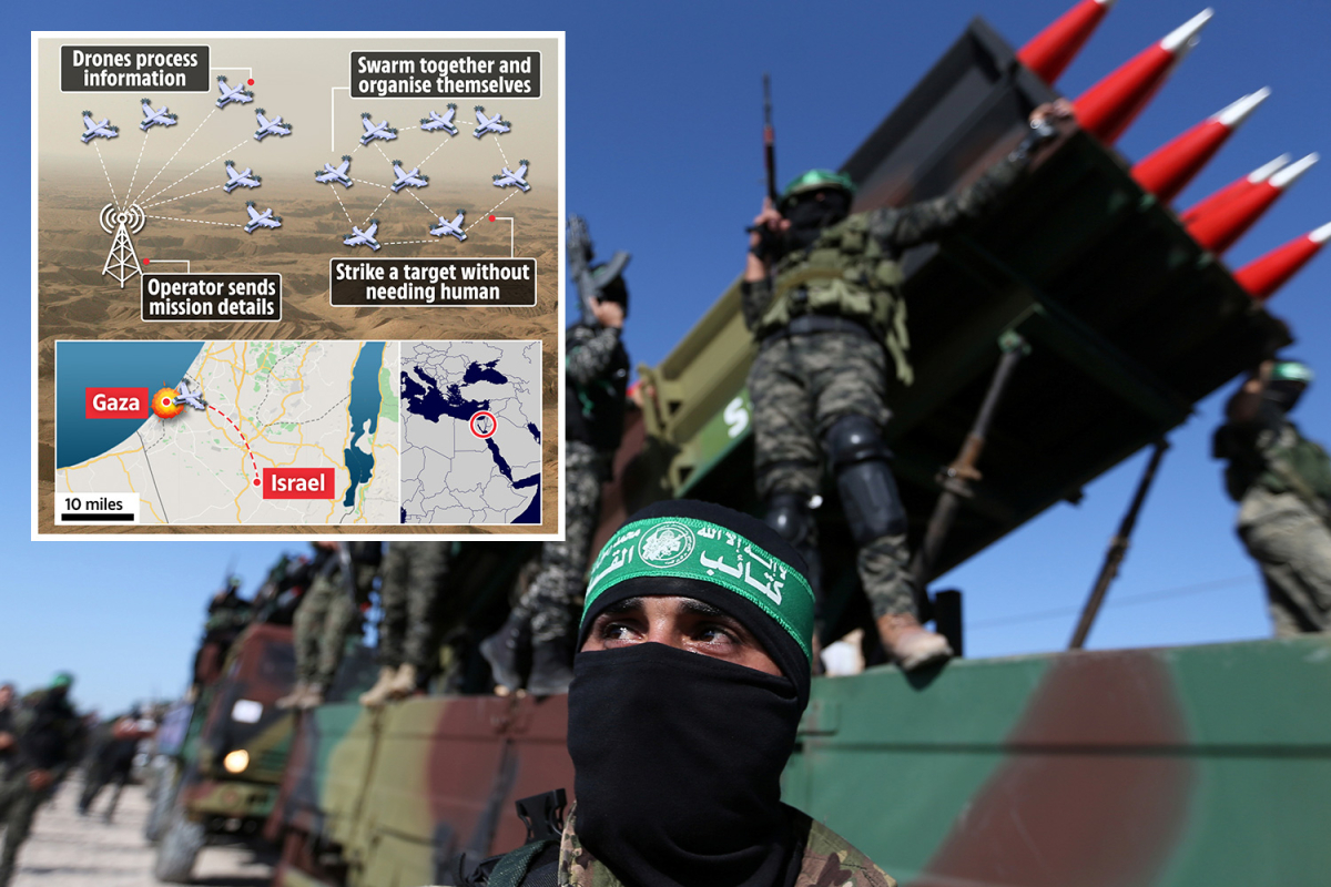 Israel makes use of first-ever AI drone swarm in battle to search out and blitz Hamas terrorists with NO human enter