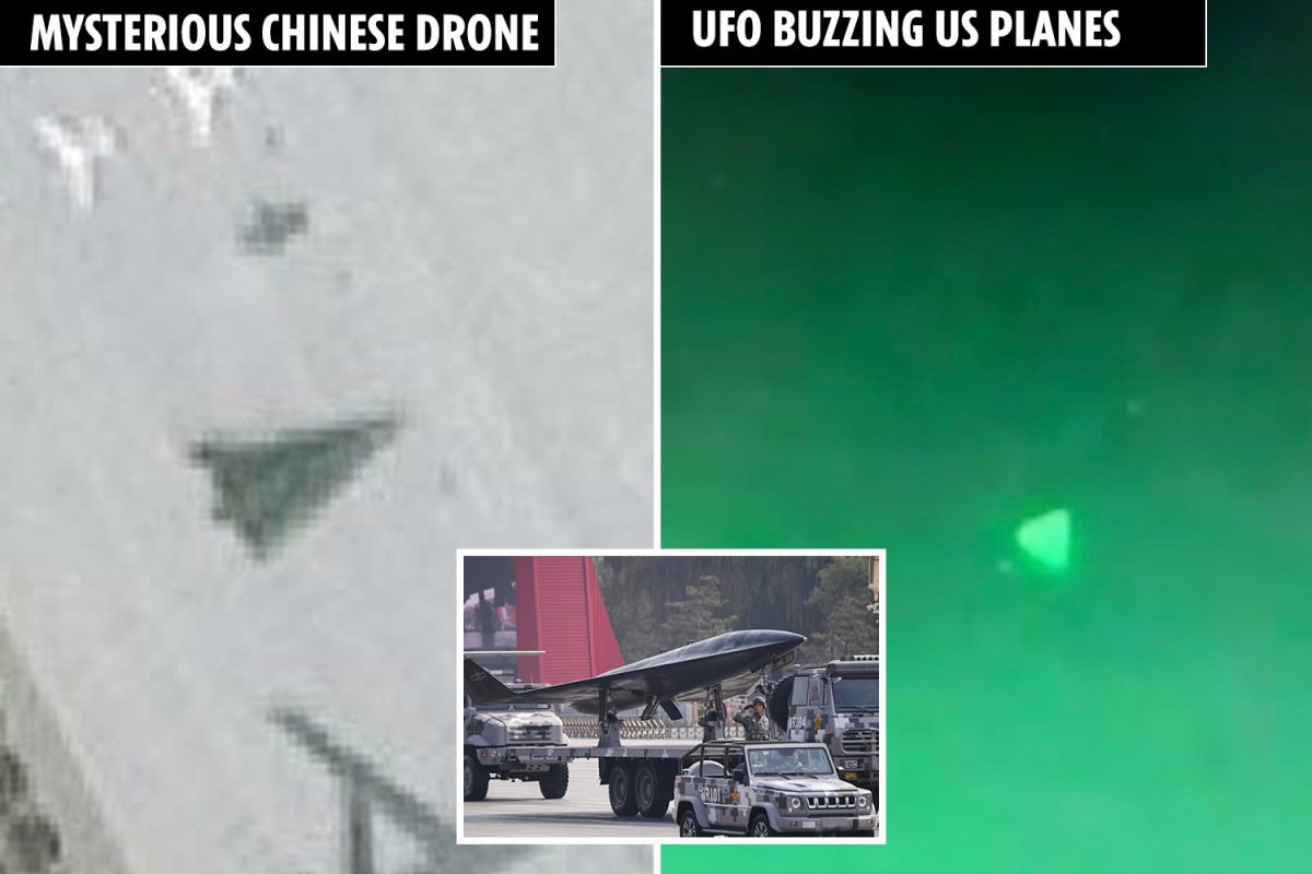 Mysterious 'hypersonic AI drone' noticed at Chinese language air base as Pentagon probes whether or not Beijing behind 'UFOs' buzzing US