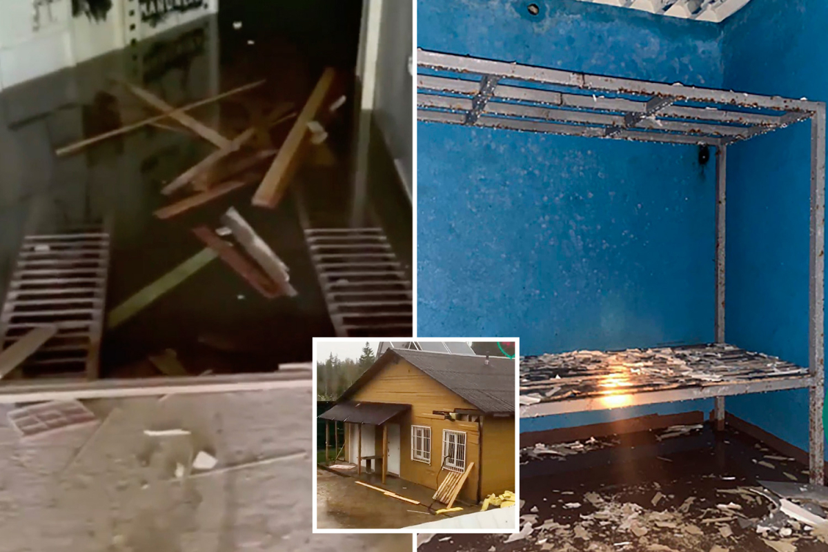 Thriller as ugly dungeon jail with its personal crematorium for victims 'tortured to loss of life' is present in Russia