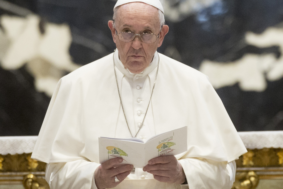 Pope Francis, 84, admitted to hospital for an operation on his abdomen