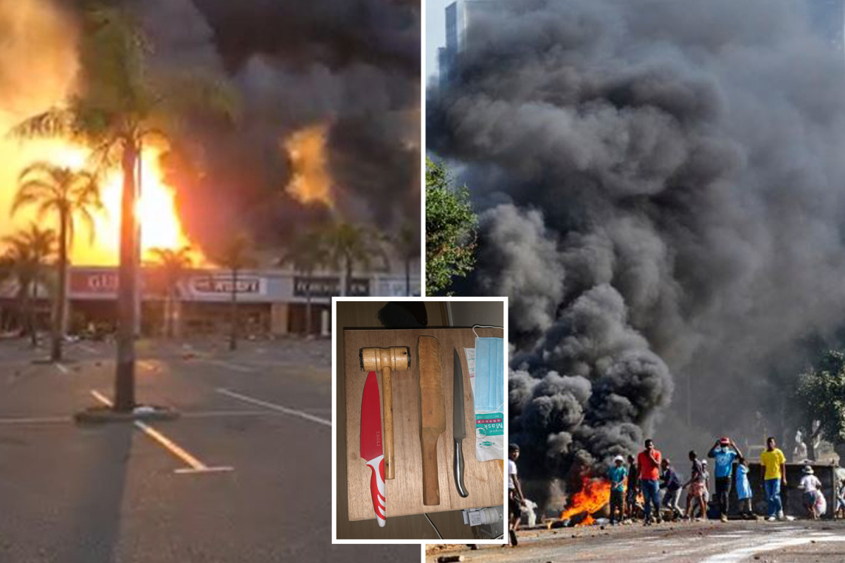 South Africa riots – Terrified households evaluate looting hell to Strolling Useless as they combat mobs with selfmade weapons