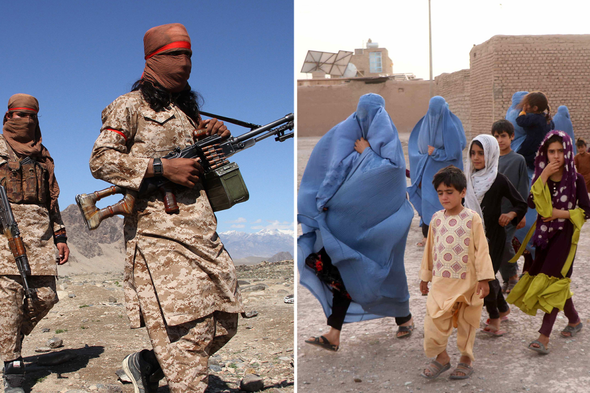 Terrified Afghans flee as Taliban sweep by way of nation within the wake of UK and US troops withdrawal