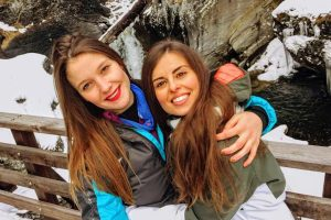 Two young women freeze to death on mountain tour in the Alps 'after wearing wrong clothing'