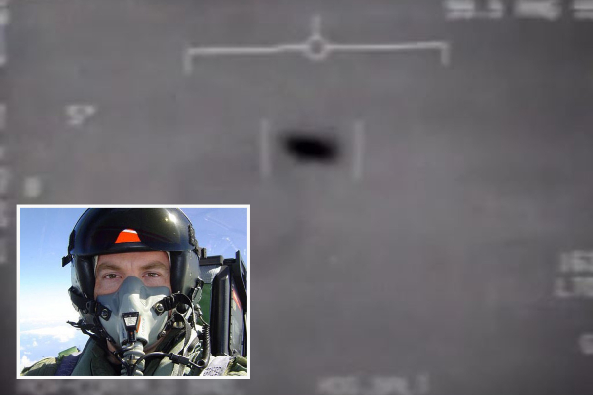 US fighter pilot who witnessed tic-tac UFOs claims craft disabled his weapons in a 'act of conflict'