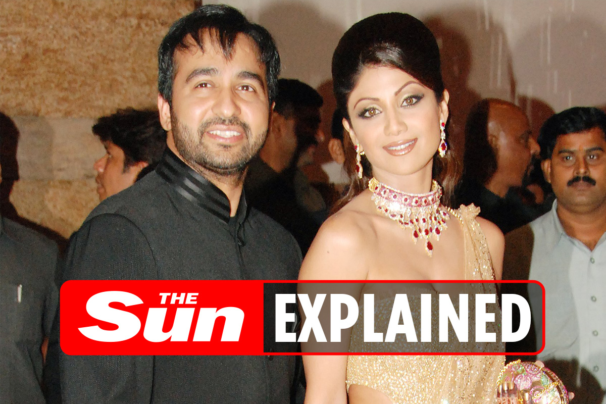 Who's Raj Kundra and what's his web value?