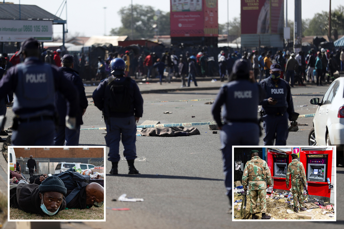Zuma riots – Lethal stampedes kill 30 looters leaving streets affected by our bodies as army crackdown on protests