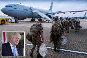 Boris Johnson rules out 'military solution' as Taliban overrun Afghanistan and al-Qaeda plot resurgence