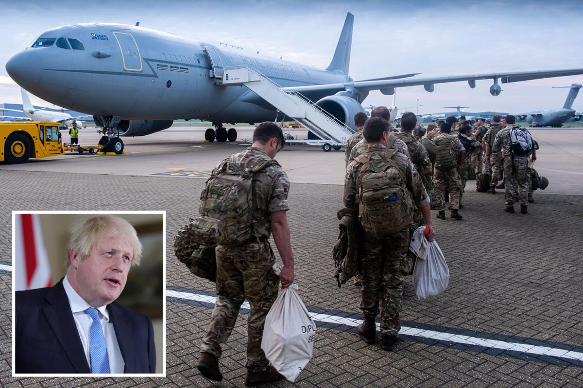 Boris Johnson guidelines out 'navy resolution' as Taliban overrun Afghanistan and al-Qaeda plot resurgence