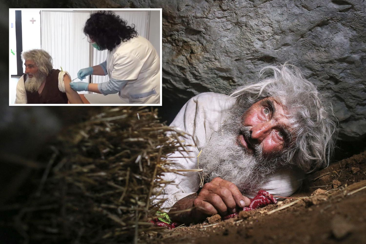 Hermit, 70, leaves tiny collapse Siberia for first time in 20 years to get Covid jab