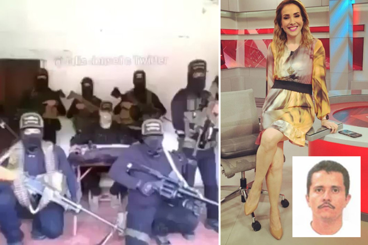 Mexico's Jalisco New Era Cartel threatens to kill TV anchor over 'unfair' protection in sinister on-line video