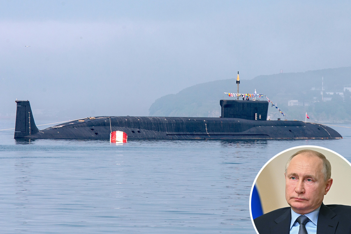 Russian hypersonic nuke submarines operating sinister 'deep penetration' missions diving past 500m in Atlantic Ocean