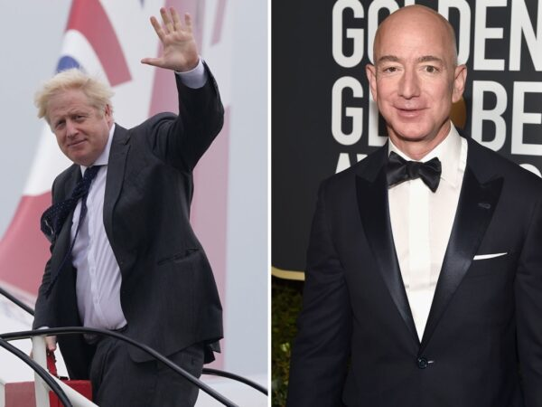 Boris Johnson will inform Jeff Bezos to pay MORE UK TAX in face-to-face assembly with world's richest man in New York