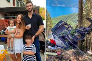 Boy, 6, orphaned in cable car crash 'kidnapped by his grandad and flown to Israel in private jet' after custody battle