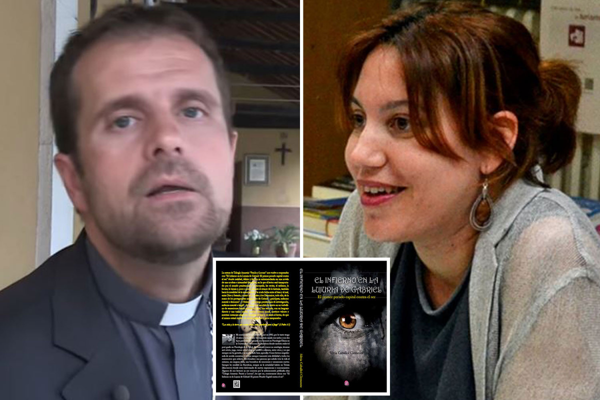 Exorcist bishop, 52, steps down after 'falling in love' with creator of satanic-themed erotic fiction