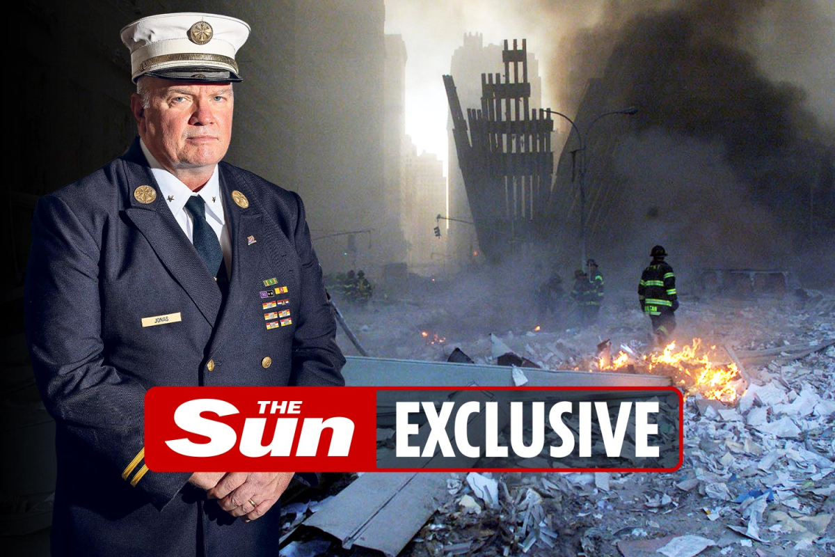 Hearth chief on responsibility on 9/11 relives horrifying second 106 flooring collapsed on prime of him