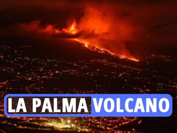 La Palma volcano – Canary Islands face poisonous fuel clouds as terrifying lava circulation heads in direction of sea amid 'fixed' quakes