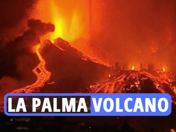 La Palma volcano newest – Canary Island flights cancelled and 100 properties destroyed as crater erupts forcing 5k to flee