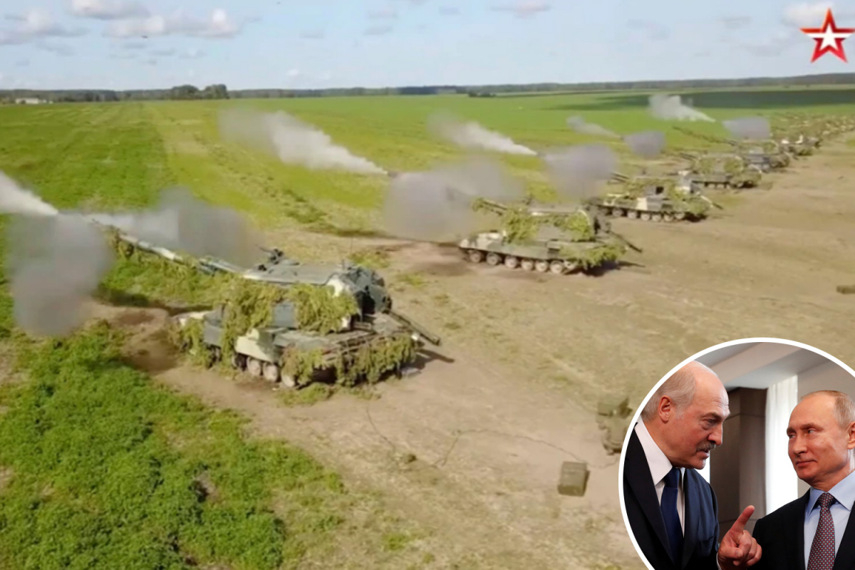 Putin to promote $1BILLION of weapons together with missile techniques to Belarus following joint battle drills on doorstep of Europe