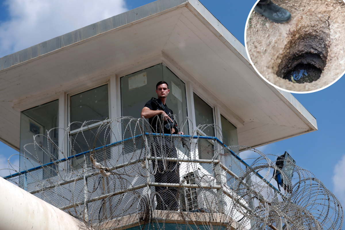 Six 'jihadi' prisoners escape prime Israeli jail by digging huge escape tunnel with rusty spoon